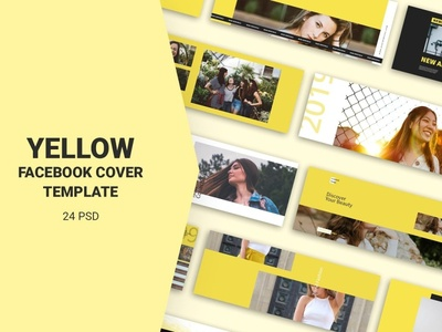 Yellow Facebook Cover Templates social media shopping sales sale tag promotion price page marketing fb fashion facebook cover facebook banners facebook cover page cover banner template banner azruca advertising