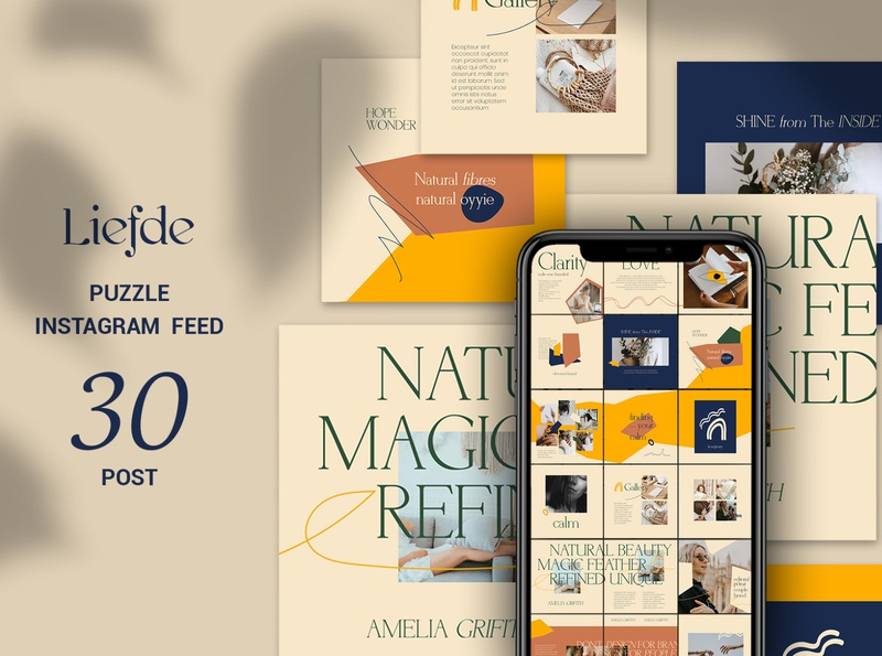 liefde Puzzle Instagram Feed shoes sales banners promotions online shopping online shop october marketing instagram template instagram ads instagram fashion banner fashion ads fashion banner promotion azruca autumn season autumn advertising ads