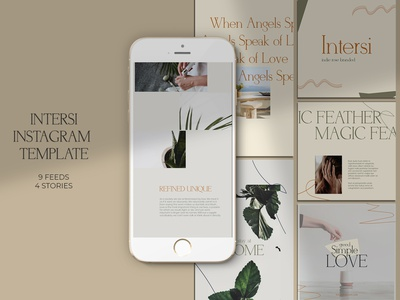 Intersi Instagram Templates social media sale post sale discount post photography page storie instagram template instagram store instagram sale instagram post instagram page instagram design instagram insta post insta design insta greeting flyer fashion sale fashion post