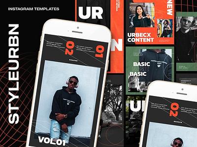 Styleurban Instagram Templates branding graphic design design clothing business marketing fashion instagram