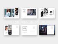Minimalist Fashion Sales Postcard