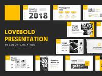Lovebold Powerpoint Presentation
