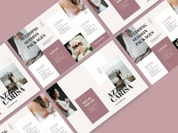 Bifold Pricing Photograph Brochure