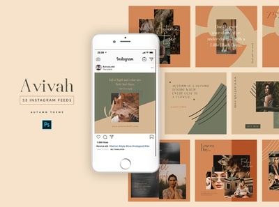 Instagram Feed designs, themes, templates and downloadable
