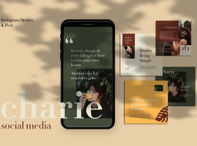 Charie Instagram Templates