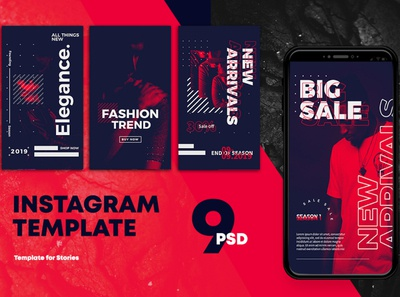 Fashion Instagram Templates