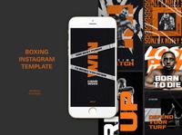 Boxing Instagram Templates