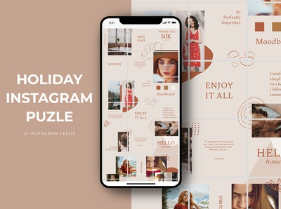 Holiday Instagram Puzzle