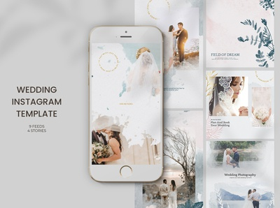 Wedding Instagram Templates