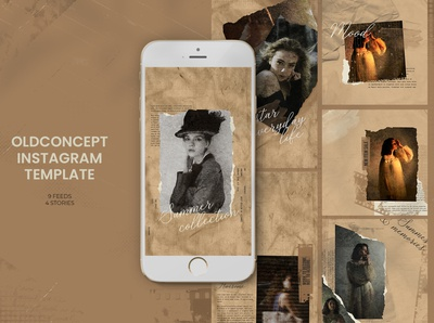 Old Concept Instagram Templates