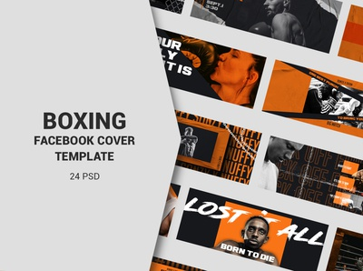 Boxing Facebook Cover Templates