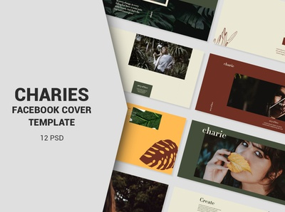 Charies Facebook Cover Templates