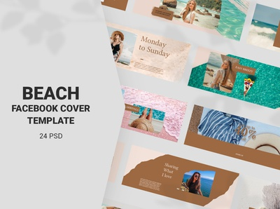 Beach Facebook Cover Templates