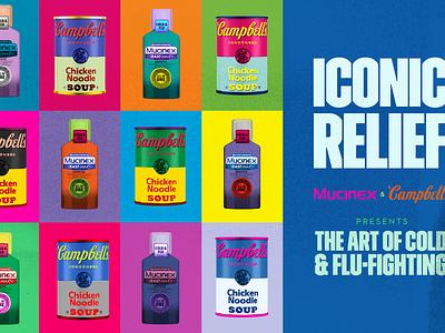 The Art of Cold & Flu-Fighting sick flu cold pop art warhol