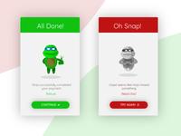 Ninja Secure Payment App-Flash Message