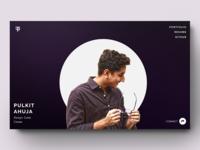 Designer Profile (inspired by Ben Schades)