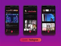 Dark Instagram Theme