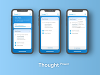 Thought Power UI- IOS Style