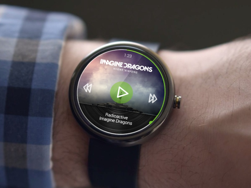 Spotify - Android Wear spotify android wear android wear smartwatch music music player player