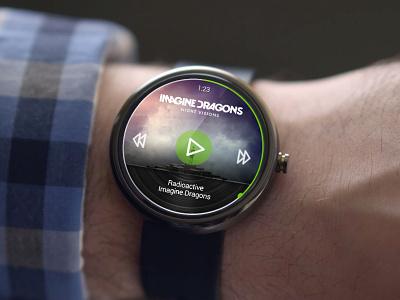 Spotify - Android Wear spotify android wear android wear smartwatch music music player player