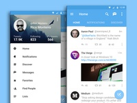 Twitter for Android - Material Design