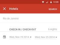 Hotels options