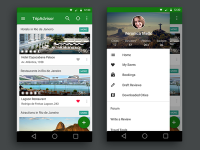 Tripadvisor Material Design material design lollipop android app booking tripadvisor hotels mobile travel ui ux