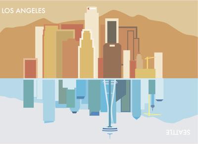 Los Angeles-Seattle