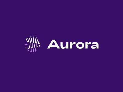 Aurora Logo symbol branding design graphic identity aurora logo