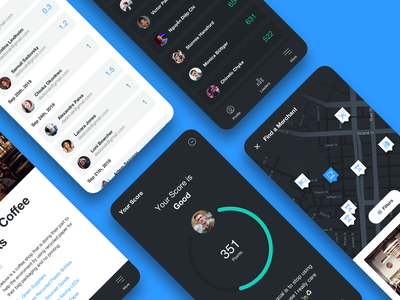 Reward App interface awards branding design ui app