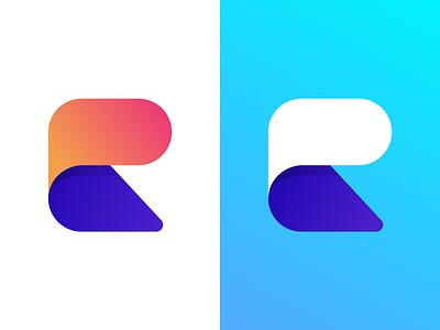 Reggie Logo Colourways graphic branding identity design logo
