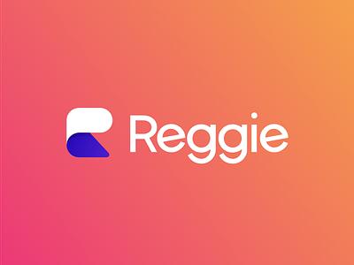 Reggie Logo Lockup design identity id branding graphic logo