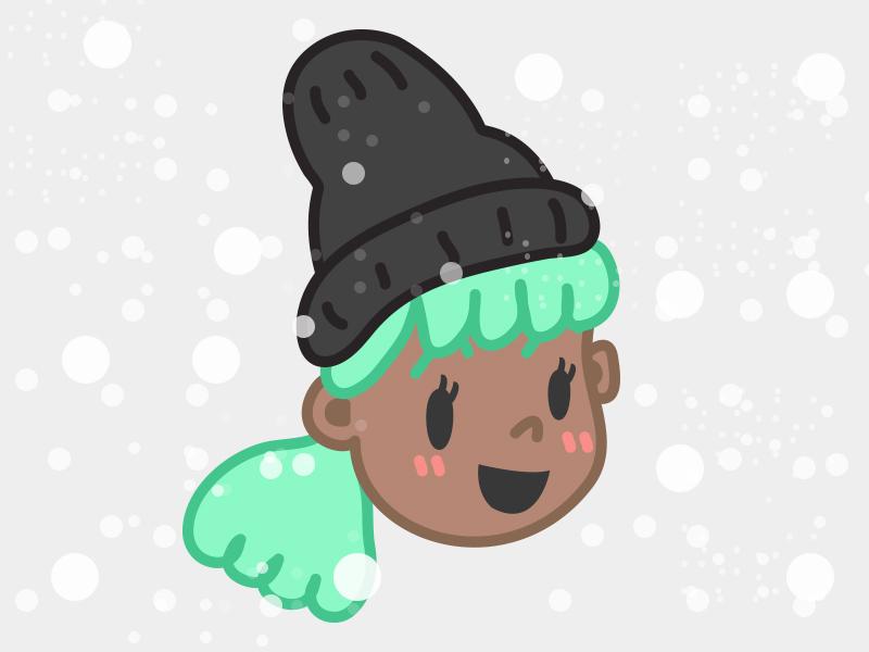 Mermaid Hair illustration doodle