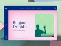 Bonjour Dribbble ! I'm Victor 👋