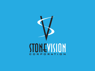 Stone Vision Corporation brand logo design