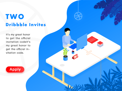 The second wave of Dribbble Invite