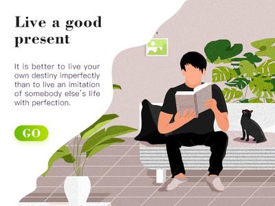 Live a good present