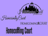 Homecoming Court Logo Ideas