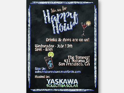 Happy Hour Invitation by Samantha Olsen Dribbble