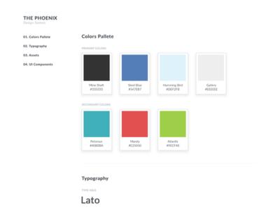 New Web App Design Guideline