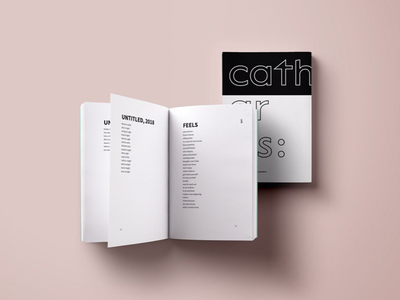Catharsis : Poetry Book Design poems artsy design poetry publication book