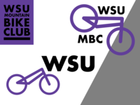 WSU Mountain Bike Club Logo