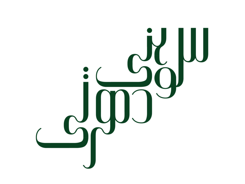 Sohni Dharti lettering digital vector type design typography illustration pakistan