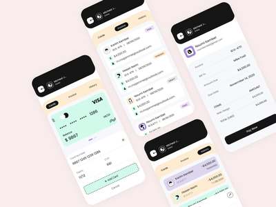 Payment app task management task manager task payment form branding userinterface inspiration creative trendy design uxtrends ux ui projects project management payment method payment app pament management payment