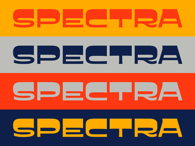 Spectra 2020 reverse contrast typography type groovy psychedelic display font type design typeface