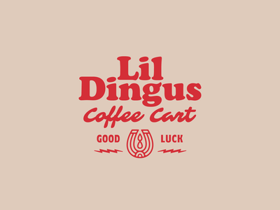 Lil Dingus Brand type badge design idenity branding icon typography logotype logo brand