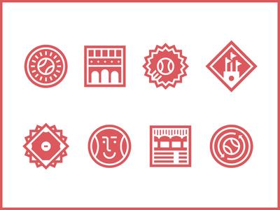 Baseballio Badges