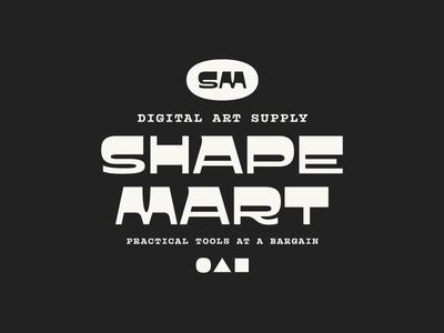 Shape Mart creative market vector pattern texture brushes supplies tools goods digital fonts typeface