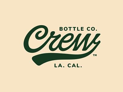 CBC Script mason jar baseball custom logotype lockup logo typography type lettering script