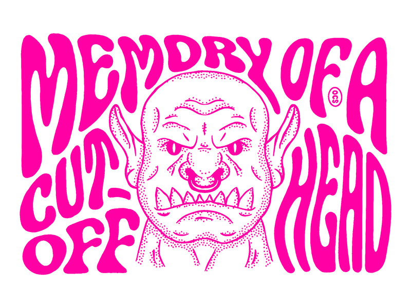 ORC zine procreate ocs oh sees orc lettering illustration